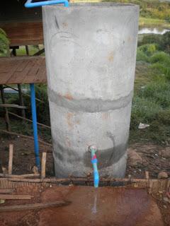 Wasser Zisterne Preksromot (Gemeindehaus)