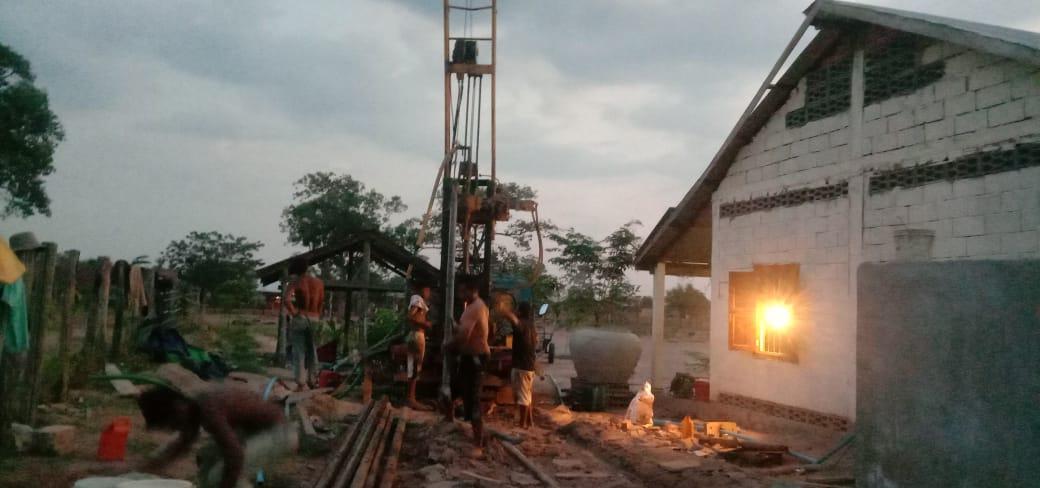 Brunnen nahe Anlong Veng