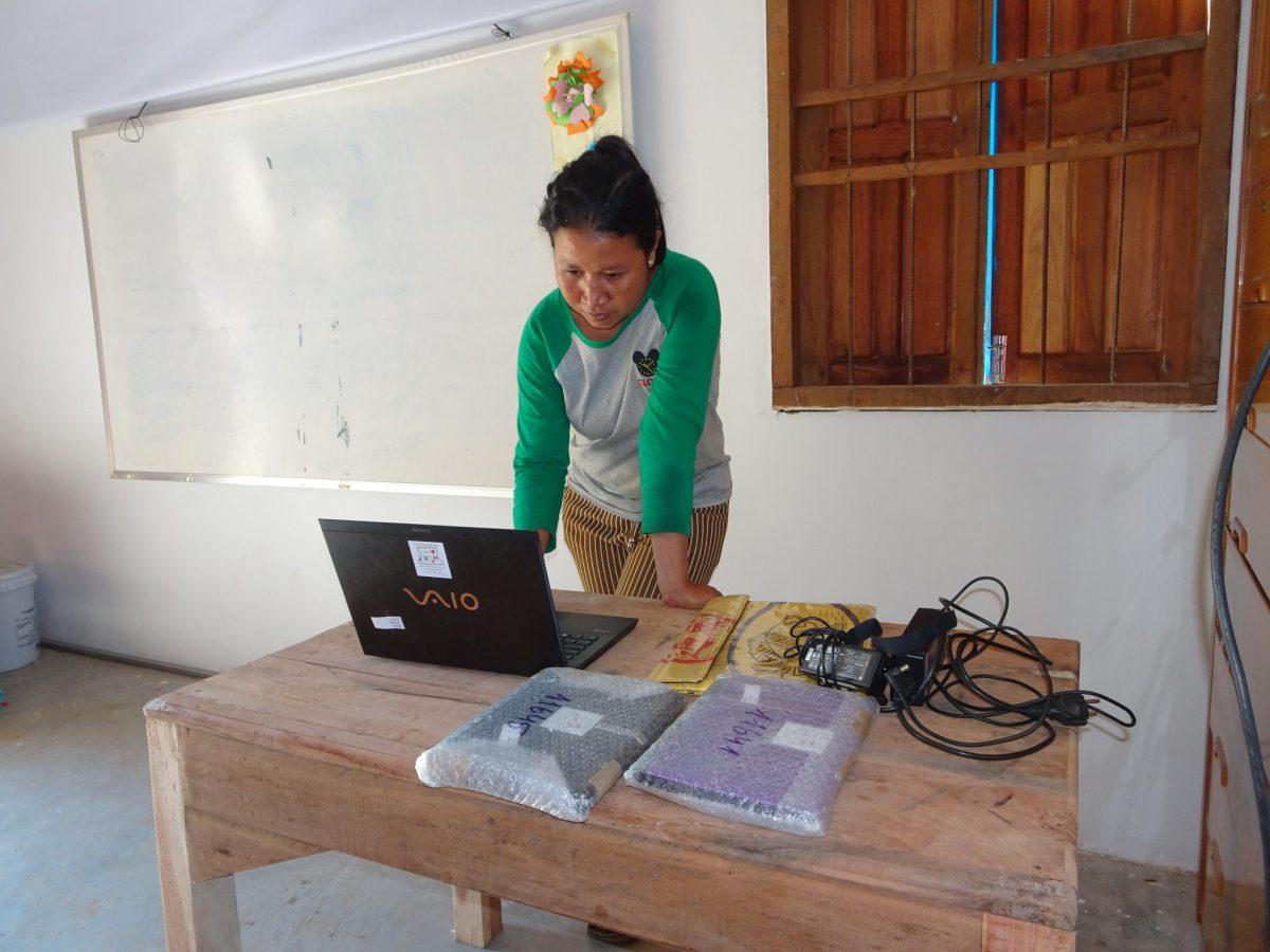 Laptops von Labdoo für Tumneab Svay