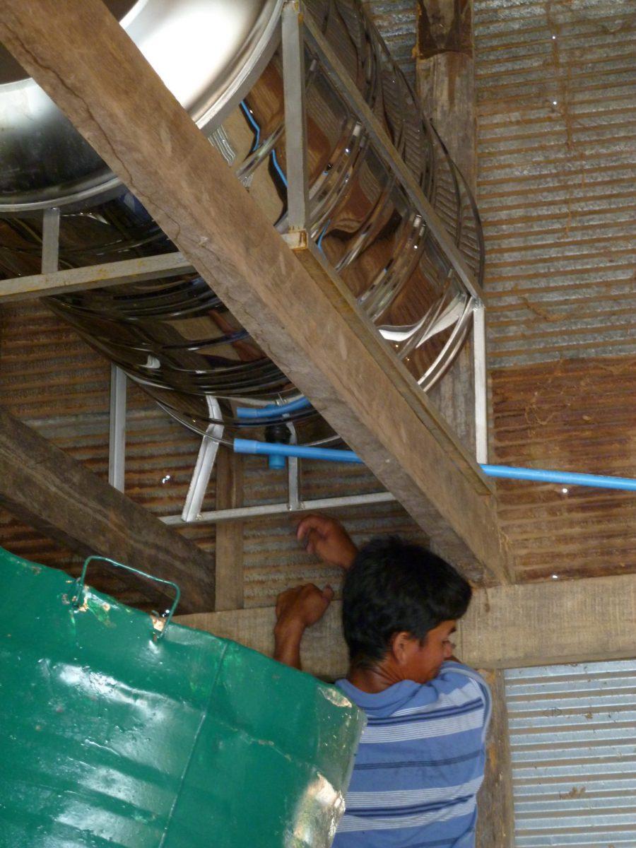 Renovierung Gemeindehaus in Preksromot